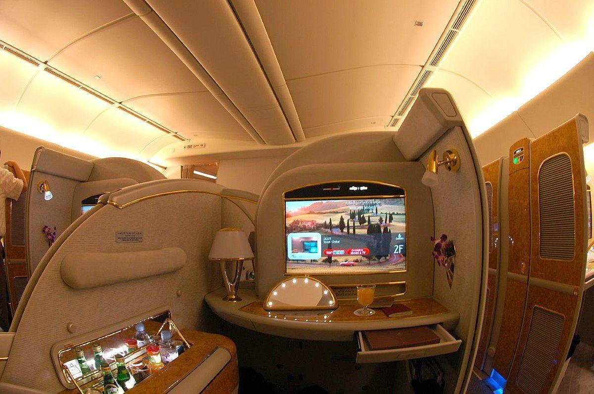 لوکس ترین پروازهای فرست کلاس در دنیا