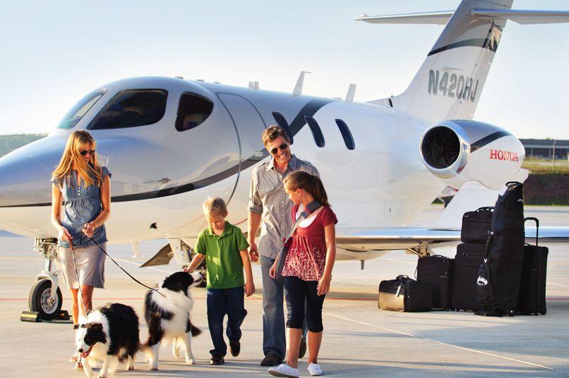 تجربه بینظیر پرواز با جت خصوصی
